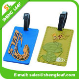 Eco-Friendly Soft PVC Rubber Luggage Tag for Travel (SLF-LT020)