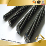 12.7mm PC Carbon Steel Sring Wire Concrete Strand Sale