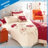4PCS Cotton Applique Duvet Cover (set)