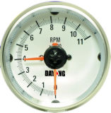 "3 3/4"" (95mm) Tachometer for Single Color LED Tachometer (8010SWC)"