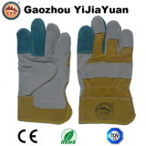 Leather Labor Safety Working Work Gloves