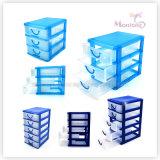 15.5*12.5*14.7cm 3 Layer Storage Box Container Plastic Storage Drawer