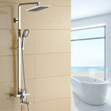 Bathroom Luxury Shower Set with Good Brass and Ss 304