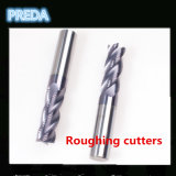 CNC Tungsten Solid Carbide 1/2/3/4/5/6 Flutes Coated End Mill