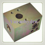 Tee Junction Block Flanges and Components