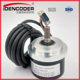 Adk A58L8 Outer Dia. 58mm, Solid Shaft 8mm 2500PPR Long Drive IP54 Incremental Rotary Encoder