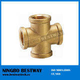 4 Way Brass Pipe Fitting for Sale (BW-646)