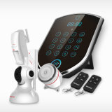 3G SIM Card Smart Home Alarm with ID Contact Monitoring Center