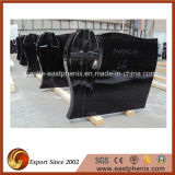 Natural Polished Absolute Black Tombstone