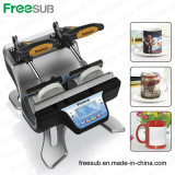 Double Station Sublimation Mug Heat Press Transfer Printing Machine with Ce (ST-210)