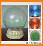 Solar Crackled Round Glass Ball Light