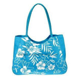 Polyester Leisure Beach Tote Bag with Printing Design