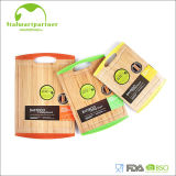 Culinary Edge Silicone Connected Bamboo Cutting Board