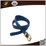 High Quality Customized Fashion Blue PU Leather Belt (HJ3267)