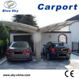 Hot Sale Aluminum Carport with Fiberglass Roof (B800)
