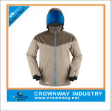 Customized Snowboard Waterproof Hunting Jackets with Breathable Membrane