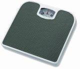 Mechanical Bathroom Scale with Leather Surface