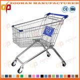 High Quality Supermarket European Style Shopping Trolley Market Cart (Zht114)