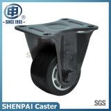 "2.5""Aluminium Core Rubber Fixed Caster Wheel"