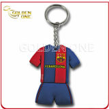 Promotional Gift Sport Offset Printing Soft PVC Keychain