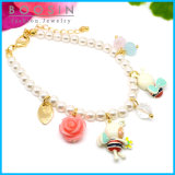 Fashion Gold Plated Pearl Bracelet for Kids Wholesale #31457