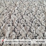 Hot Sale Nylon Cotton Lace Fabric for Garment (M3063)