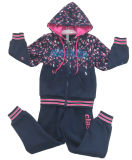 Fashion Girl Cardigans in Winter Hoodies Children Clothes Swg-128