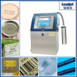Guaranteen 100% Continuous Inkjet Date Tin Can Coding Machine