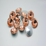 Rivoli Sew on Glass Beads Ab 3015 Crystal Beads, Sew on Crystal Ab Rhinestones
