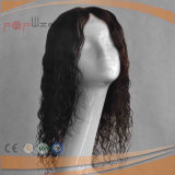 French Curly Base Brown Color Mixed 100% Human Hair Top Quality Full Handtied Jewish Silk Top Wigs