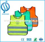 Europe Standard Children Safety Vest with Heating Traffic Printing