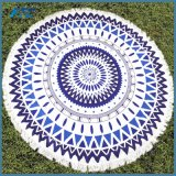 Hot Microfiber 150cm Diameter Round Beach Towel Reactive Printed