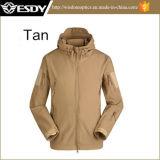 Tactical Tan Color Men Military Hunting Camping Waterproof Jacket