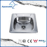 Countertop Kitchen Square Stainless Steel Sink (ACS5355)