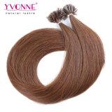 Color #4 Prebond U Tip Human Hair Extensions