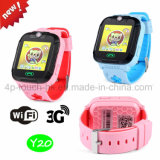 3G WiFi Fashion Kids Smart GPS Tracker Watch with GPRS Real-Time Location Y20