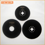 "HSS Round Oscillating Saw Blade 3-1/8"" (80mm) for Cutting Woods"