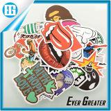 Whimsy Waterproof Custom Design Pattern of The Printing PVC Sticker