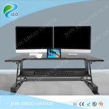 Jeo 2017 Jn-Ld02s Black or White Height Adjustable Sit to Stand Desk