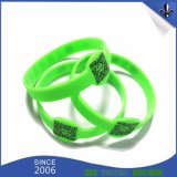 Cheap Custom Debossed Silicone Wristband/Printed Rubber Band