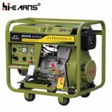 Diesel Power Generator Set with Handles and Wheels (DG6000E)