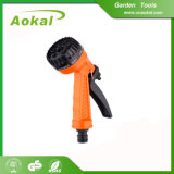High Pressure Portable Adjustable 5-Pattern Plastic Water Spray Gun