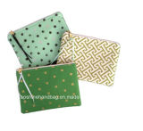 Fashion Printed Canvas Clutch Bag