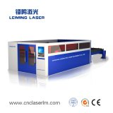 Full Cover Metal Fiber Laser Cutter with Exchange Table Lm3015h