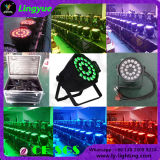 24X18W Rgbwauv 6in1 DJ Disco DMX LED PAR Stage Light