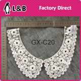 Machine Made Polyester Embroidery Lace Collar