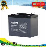 Deep Cycle Gel Battery for Street Lighting 12V55ah (DCG55-12)