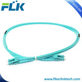 LC-LC Om3 50/125 Duplex Fiber Optic Patch Cables for Network