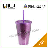 SGS Certificated Glitter Coffee Mug (QL-M030B)
