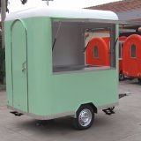 Manufacture Customized Mobile Food Cart Kiosk Van Trailer for Sale/ Food Service Towable Mobile Fryer Food Cart